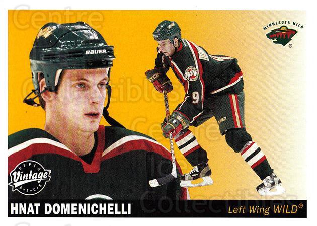 2002-03 UD Vintage #127 Hnat Domenichelli<br/>7 In Stock - $1.00 each - <a href=https://centericecollectibles.foxycart.com/cart?name=2002-03%20UD%20Vintage%20%23127%20Hnat%20Domenichel...&quantity_max=7&price=$1.00&code=110245 class=foxycart> Buy it now! </a>