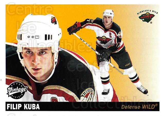 2002-03 UD Vintage #128 Filip Kuba<br/>8 In Stock - $1.00 each - <a href=https://centericecollectibles.foxycart.com/cart?name=2002-03%20UD%20Vintage%20%23128%20Filip%20Kuba...&quantity_max=8&price=$1.00&code=110246 class=foxycart> Buy it now! </a>