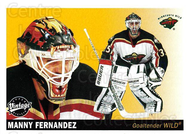 2002-03 UD Vintage #129 Manny Fernandez<br/>8 In Stock - $1.00 each - <a href=https://centericecollectibles.foxycart.com/cart?name=2002-03%20UD%20Vintage%20%23129%20Manny%20Fernandez...&quantity_max=8&price=$1.00&code=110247 class=foxycart> Buy it now! </a>