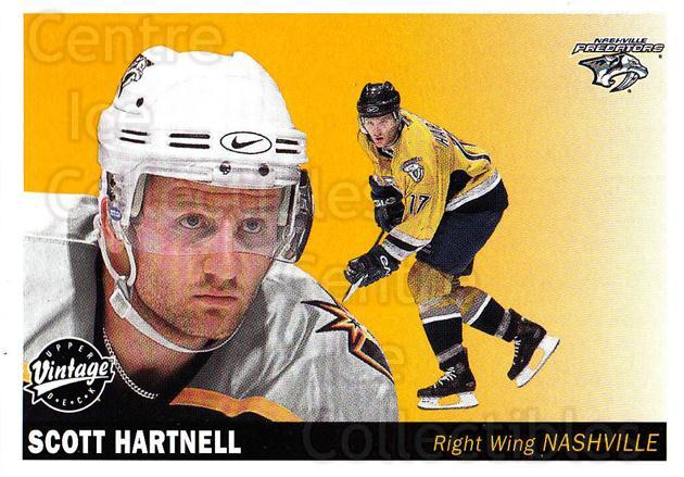 2002-03 UD Vintage #140 Scott Hartnell<br/>8 In Stock - $1.00 each - <a href=https://centericecollectibles.foxycart.com/cart?name=2002-03%20UD%20Vintage%20%23140%20Scott%20Hartnell...&quantity_max=8&price=$1.00&code=110259 class=foxycart> Buy it now! </a>