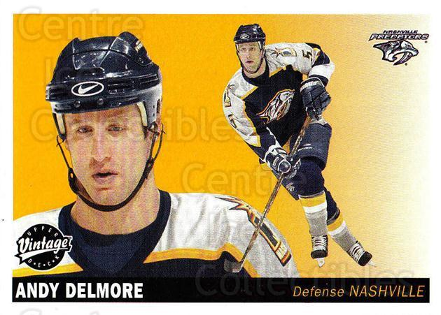 2002-03 UD Vintage #146 Andy Delmore<br/>4 In Stock - $1.00 each - <a href=https://centericecollectibles.foxycart.com/cart?name=2002-03%20UD%20Vintage%20%23146%20Andy%20Delmore...&quantity_max=4&price=$1.00&code=110265 class=foxycart> Buy it now! </a>