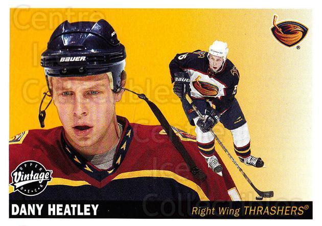 2002-03 UD Vintage #15 Dany Heatley<br/>7 In Stock - $1.00 each - <a href=https://centericecollectibles.foxycart.com/cart?name=2002-03%20UD%20Vintage%20%2315%20Dany%20Heatley...&quantity_max=7&price=$1.00&code=110266 class=foxycart> Buy it now! </a>