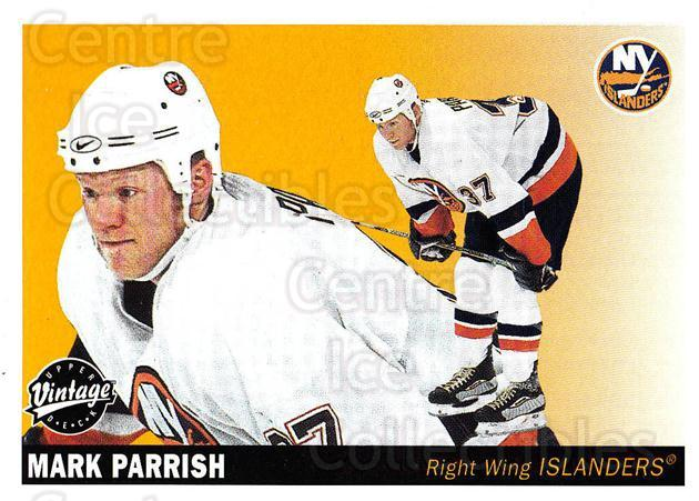 2002-03 UD Vintage #158 Mark Parrish<br/>12 In Stock - $1.00 each - <a href=https://centericecollectibles.foxycart.com/cart?name=2002-03%20UD%20Vintage%20%23158%20Mark%20Parrish...&quantity_max=12&price=$1.00&code=110270 class=foxycart> Buy it now! </a>