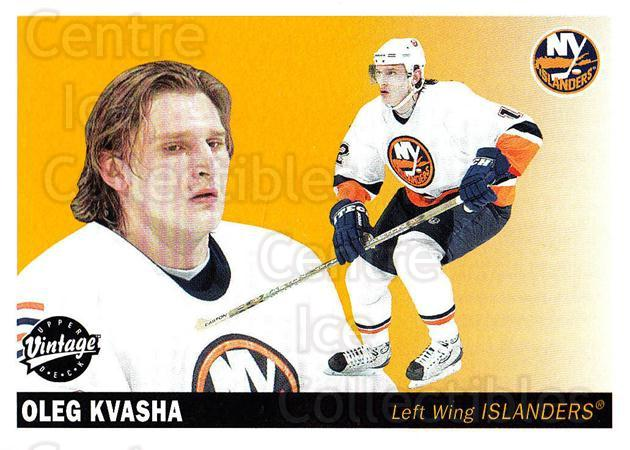 2002-03 UD Vintage #159 Oleg Kvasha<br/>9 In Stock - $1.00 each - <a href=https://centericecollectibles.foxycart.com/cart?name=2002-03%20UD%20Vintage%20%23159%20Oleg%20Kvasha...&quantity_max=9&price=$1.00&code=110271 class=foxycart> Buy it now! </a>