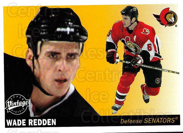 2002-03 UD Vintage #174 Wade Redden<br/>9 In Stock - $1.00 each - <a href=https://centericecollectibles.foxycart.com/cart?name=2002-03%20UD%20Vintage%20%23174%20Wade%20Redden...&quantity_max=9&price=$1.00&code=110286 class=foxycart> Buy it now! </a>