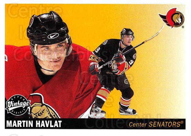2002-03 UD Vintage #178 Martin Havlat<br/>8 In Stock - $1.00 each - <a href=https://centericecollectibles.foxycart.com/cart?name=2002-03%20UD%20Vintage%20%23178%20Martin%20Havlat...&quantity_max=8&price=$1.00&code=110290 class=foxycart> Buy it now! </a>