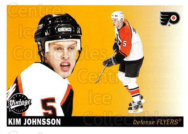 2002-03 UD Vintage #183 Kim Johnsson<br/>6 In Stock - $1.00 each - <a href=https://centericecollectibles.foxycart.com/cart?name=2002-03%20UD%20Vintage%20%23183%20Kim%20Johnsson...&quantity_max=6&price=$1.00&code=110295 class=foxycart> Buy it now! </a>