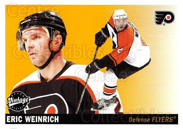 2002-03 UD Vintage #190 Eric Weinrich<br/>6 In Stock - $1.00 each - <a href=https://centericecollectibles.foxycart.com/cart?name=2002-03%20UD%20Vintage%20%23190%20Eric%20Weinrich...&quantity_max=6&price=$1.00&code=110303 class=foxycart> Buy it now! </a>