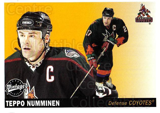 2002-03 UD Vintage #192 Teppo Numminen<br/>14 In Stock - $1.00 each - <a href=https://centericecollectibles.foxycart.com/cart?name=2002-03%20UD%20Vintage%20%23192%20Teppo%20Numminen...&quantity_max=14&price=$1.00&code=110305 class=foxycart> Buy it now! </a>