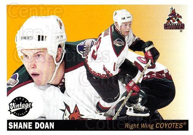 2002-03 UD Vintage #193 Shane Doan<br/>9 In Stock - $1.00 each - <a href=https://centericecollectibles.foxycart.com/cart?name=2002-03%20UD%20Vintage%20%23193%20Shane%20Doan...&quantity_max=9&price=$1.00&code=110306 class=foxycart> Buy it now! </a>