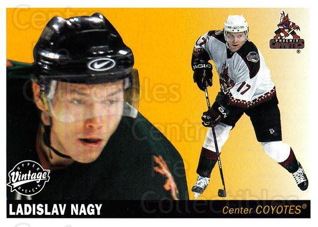 2002-03 UD Vintage #195 Ladislav Nagy<br/>7 In Stock - $1.00 each - <a href=https://centericecollectibles.foxycart.com/cart?name=2002-03%20UD%20Vintage%20%23195%20Ladislav%20Nagy...&quantity_max=7&price=$1.00&code=110308 class=foxycart> Buy it now! </a>