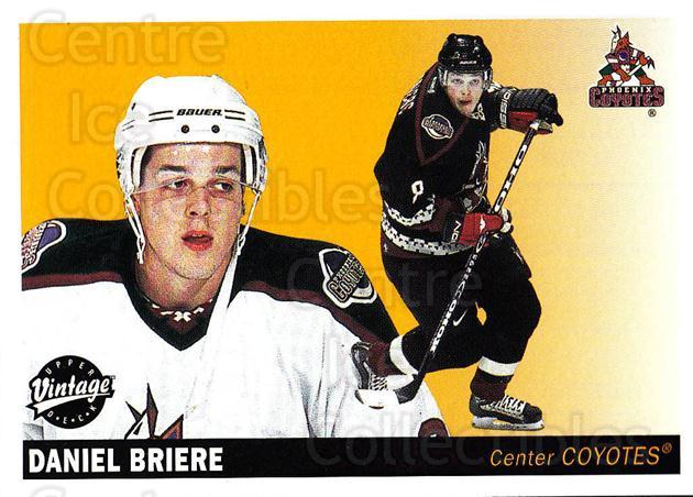 2002-03 UD Vintage #197 Daniel Briere<br/>13 In Stock - $1.00 each - <a href=https://centericecollectibles.foxycart.com/cart?name=2002-03%20UD%20Vintage%20%23197%20Daniel%20Briere...&quantity_max=13&price=$1.00&code=110310 class=foxycart> Buy it now! </a>