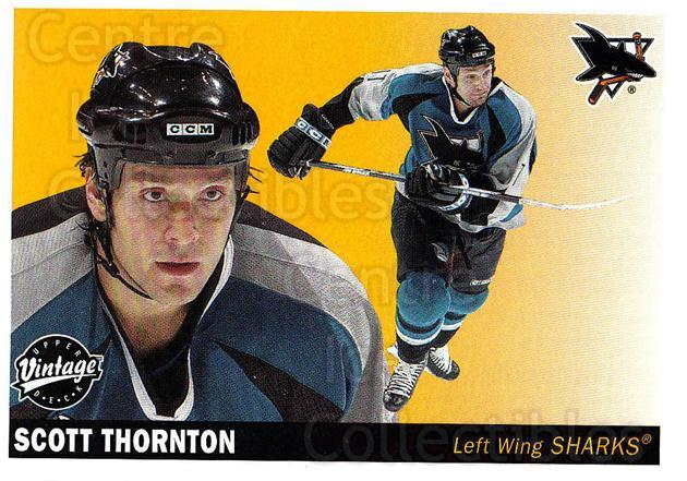 2002-03 UD Vintage #209 Scott Thornton<br/>8 In Stock - $1.00 each - <a href=https://centericecollectibles.foxycart.com/cart?name=2002-03%20UD%20Vintage%20%23209%20Scott%20Thornton...&quantity_max=8&price=$1.00&code=110322 class=foxycart> Buy it now! </a>