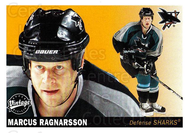 2002-03 UD Vintage #213 Marcus Ragnarsson<br/>12 In Stock - $1.00 each - <a href=https://centericecollectibles.foxycart.com/cart?name=2002-03%20UD%20Vintage%20%23213%20Marcus%20Ragnarss...&quantity_max=12&price=$1.00&code=110327 class=foxycart> Buy it now! </a>