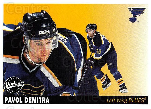 2002-03 UD Vintage #219 Pavol Demitra<br/>9 In Stock - $1.00 each - <a href=https://centericecollectibles.foxycart.com/cart?name=2002-03%20UD%20Vintage%20%23219%20Pavol%20Demitra...&quantity_max=9&price=$1.00&code=110332 class=foxycart> Buy it now! </a>