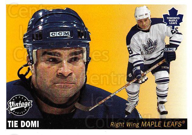 2002-03 UD Vintage #235 Tie Domi<br/>8 In Stock - $1.00 each - <a href=https://centericecollectibles.foxycart.com/cart?name=2002-03%20UD%20Vintage%20%23235%20Tie%20Domi...&quantity_max=8&price=$1.00&code=110348 class=foxycart> Buy it now! </a>