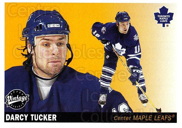 2002-03 UD Vintage #239 Darcy Tucker<br/>6 In Stock - $1.00 each - <a href=https://centericecollectibles.foxycart.com/cart?name=2002-03%20UD%20Vintage%20%23239%20Darcy%20Tucker...&quantity_max=6&price=$1.00&code=110351 class=foxycart> Buy it now! </a>