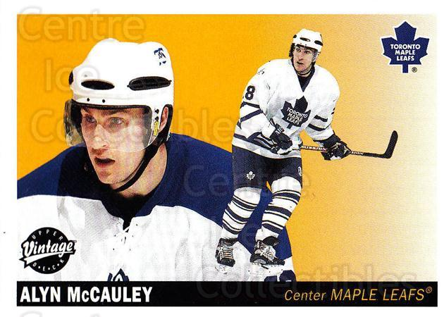 2002-03 UD Vintage #242 Alyn McCauley<br/>7 In Stock - $1.00 each - <a href=https://centericecollectibles.foxycart.com/cart?name=2002-03%20UD%20Vintage%20%23242%20Alyn%20McCauley...&quantity_max=7&price=$1.00&code=110355 class=foxycart> Buy it now! </a>