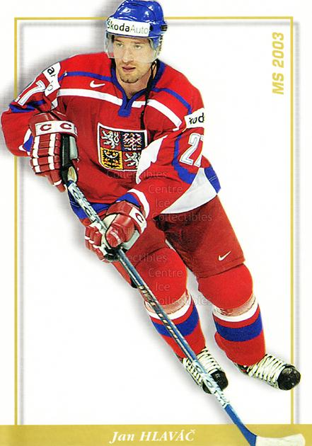 2003-04 Czech National Team Postcards #33 Jan Hlavac<br/>3 In Stock - $3.00 each - <a href=https://centericecollectibles.foxycart.com/cart?name=2003-04%20Czech%20National%20Team%20Postcards%20%2333%20Jan%20Hlavac...&quantity_max=3&price=$3.00&code=110577 class=foxycart> Buy it now! </a>