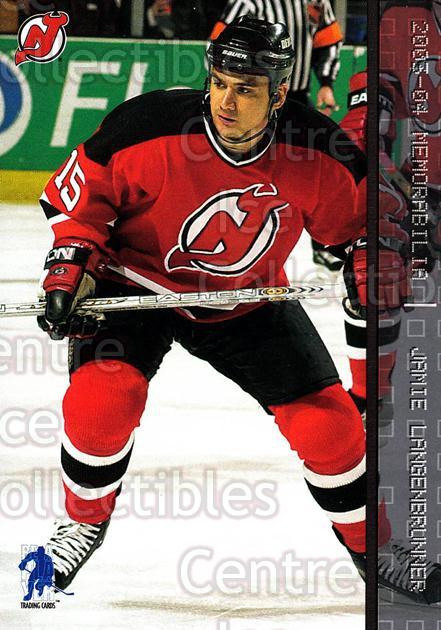 2003-04 BAP Memorabilia #32 Jamie Langenbrunner<br/>7 In Stock - $1.00 each - <a href=https://centericecollectibles.foxycart.com/cart?name=2003-04%20BAP%20Memorabilia%20%2332%20Jamie%20Langenbru...&quantity_max=7&price=$1.00&code=111008 class=foxycart> Buy it now! </a>