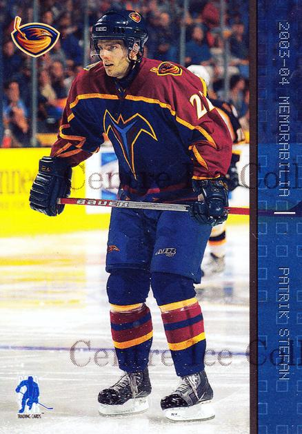 2003-04 BAP Memorabilia Sapphire #67 Patrik Stefan<br/>5 In Stock - $5.00 each - <a href=https://centericecollectibles.foxycart.com/cart?name=2003-04%20BAP%20Memorabilia%20Sapphire%20%2367%20Patrik%20Stefan...&quantity_max=5&price=$5.00&code=111223 class=foxycart> Buy it now! </a>