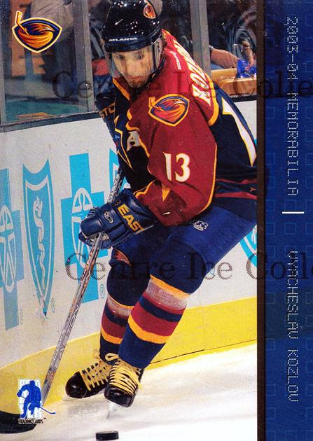 2003-04 BAP Memorabilia Sapphire #98 Vyacheslav Kozlov<br/>2 In Stock - $5.00 each - <a href=https://centericecollectibles.foxycart.com/cart?name=2003-04%20BAP%20Memorabilia%20Sapphire%20%2398%20Vyacheslav%20Kozl...&quantity_max=2&price=$5.00&code=111232 class=foxycart> Buy it now! </a>