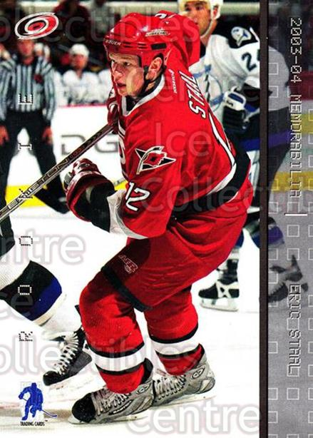 2003-04 BAP Memorabilia #176 Eric Staal<br/>51 In Stock - $3.00 each - <a href=https://centericecollectibles.foxycart.com/cart?name=2003-04%20BAP%20Memorabilia%20%23176%20Eric%20Staal...&quantity_max=51&price=$3.00&code=111331 class=foxycart> Buy it now! </a>