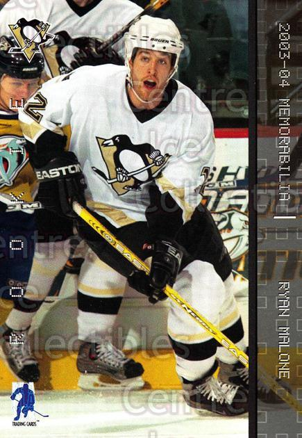 2003-04 BAP Memorabilia #204 Ryan Malone<br/>4 In Stock - $2.00 each - <a href=https://centericecollectibles.foxycart.com/cart?name=2003-04%20BAP%20Memorabilia%20%23204%20Ryan%20Malone...&quantity_max=4&price=$2.00&code=111357 class=foxycart> Buy it now! </a>