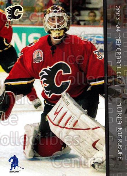 2003-04 BAP Memorabilia #232 Miikka Kiprusoff<br/>1 In Stock - $2.00 each - <a href=https://centericecollectibles.foxycart.com/cart?name=2003-04%20BAP%20Memorabilia%20%23232%20Miikka%20Kiprusof...&quantity_max=1&price=$2.00&code=111380 class=foxycart> Buy it now! </a>