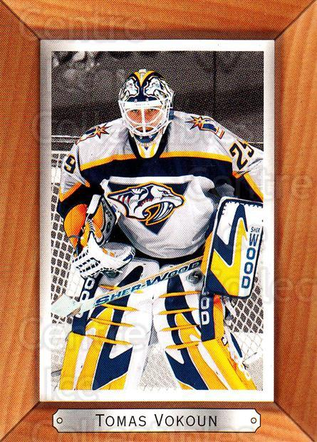 2003-04 Beehive Variations #110 Tomas Vokoun<br/>3 In Stock - $3.00 each - <a href=https://centericecollectibles.foxycart.com/cart?name=2003-04%20Beehive%20Variations%20%23110%20Tomas%20Vokoun...&quantity_max=3&price=$3.00&code=111439 class=foxycart> Buy it now! </a>