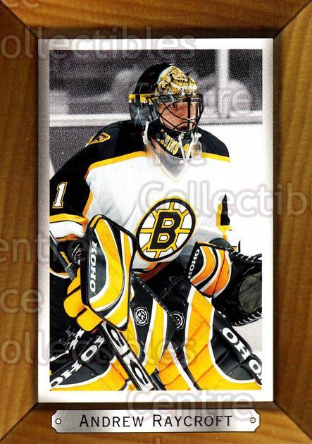 2003-04 Beehive #13 Andrew Raycroft<br/>8 In Stock - $1.00 each - <a href=https://centericecollectibles.foxycart.com/cart?name=2003-04%20Beehive%20%2313%20Andrew%20Raycroft...&quantity_max=8&price=$1.00&code=111480 class=foxycart> Buy it now! </a>