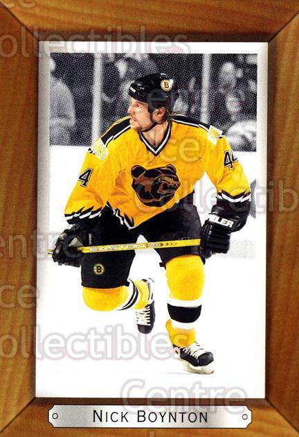 2003-04 Beehive #18 Nick Boynton<br/>8 In Stock - $1.00 each - <a href=https://centericecollectibles.foxycart.com/cart?name=2003-04%20Beehive%20%2318%20Nick%20Boynton...&quantity_max=8&price=$1.00&code=111534 class=foxycart> Buy it now! </a>