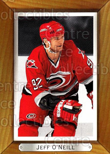 2003-04 Beehive #33 Jeff O'Neill<br/>7 In Stock - $1.00 each - <a href=https://centericecollectibles.foxycart.com/cart?name=2003-04%20Beehive%20%2333%20Jeff%20O'Neill...&quantity_max=7&price=$1.00&code=111581 class=foxycart> Buy it now! </a>