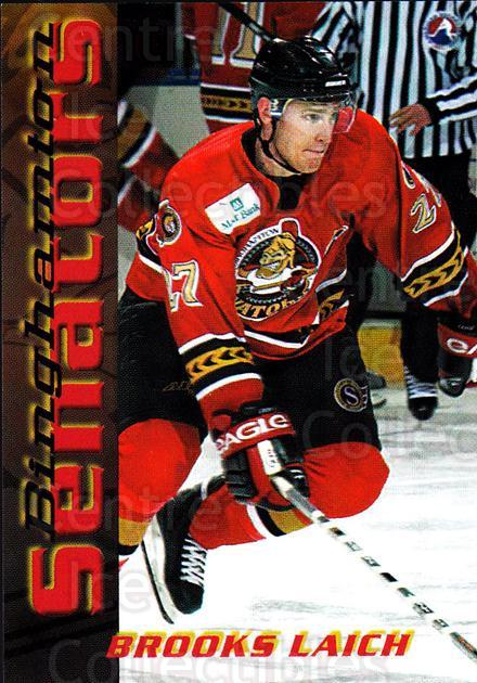 2003-04 Binghamton Senators #11 Brooks Laich<br/>7 In Stock - $3.00 each - <a href=https://centericecollectibles.foxycart.com/cart?name=2003-04%20Binghamton%20Senators%20%2311%20Brooks%20Laich...&quantity_max=7&price=$3.00&code=111598 class=foxycart> Buy it now! </a>