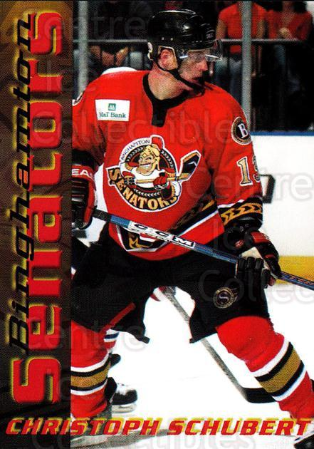 2003-04 Binghamton Senators #17 Christoph Schubert<br/>4 In Stock - $3.00 each - <a href=https://centericecollectibles.foxycart.com/cart?name=2003-04%20Binghamton%20Senators%20%2317%20Christoph%20Schub...&quantity_max=4&price=$3.00&code=111604 class=foxycart> Buy it now! </a>