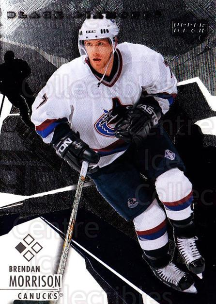 2003-04 Black Diamond #30 Brendan Morrison<br/>4 In Stock - $1.00 each - <a href=https://centericecollectibles.foxycart.com/cart?name=2003-04%20Black%20Diamond%20%2330%20Brendan%20Morriso...&quantity_max=4&price=$1.00&code=111680 class=foxycart> Buy it now! </a>