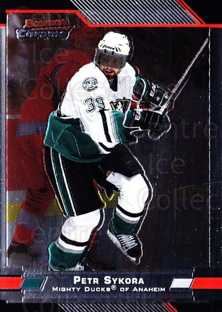 2003-04 Bowman Chrome #42 Petr Sykora<br/>5 In Stock - $1.00 each - <a href=https://centericecollectibles.foxycart.com/cart?name=2003-04%20Bowman%20Chrome%20%2342%20Petr%20Sykora...&quantity_max=5&price=$1.00&code=111833 class=foxycart> Buy it now! </a>