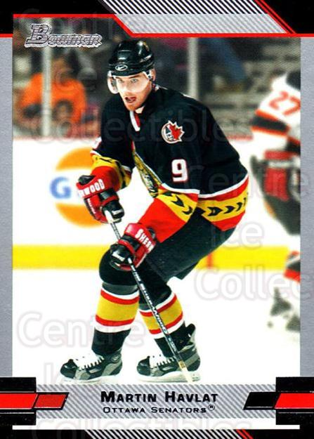 2003-04 Bowman #109 Martin Havlat<br/>5 In Stock - $1.00 each - <a href=https://centericecollectibles.foxycart.com/cart?name=2003-04%20Bowman%20%23109%20Martin%20Havlat...&quantity_max=5&price=$1.00&code=112008 class=foxycart> Buy it now! </a>