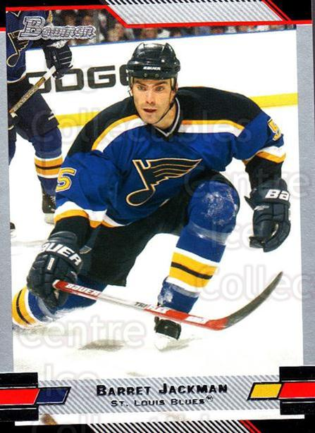 2003-04 Bowman #6 Barret Jackman<br/>5 In Stock - $1.00 each - <a href=https://centericecollectibles.foxycart.com/cart?name=2003-04%20Bowman%20%236%20Barret%20Jackman...&quantity_max=5&price=$1.00&code=112083 class=foxycart> Buy it now! </a>