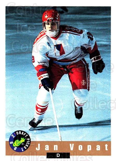 1992 Classic Hockey Draft #36 Jan Vopat<br/>7 In Stock - $1.00 each - <a href=https://centericecollectibles.foxycart.com/cart?name=1992%20Classic%20Hockey%20Draft%20%2336%20Jan%20Vopat...&quantity_max=7&price=$1.00&code=11211 class=foxycart> Buy it now! </a>
