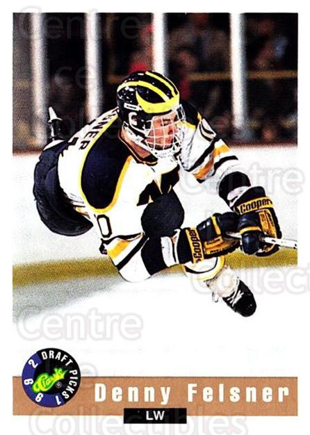 1992 Classic Hockey Draft #64 Denny Felsner<br/>7 In Stock - $1.00 each - <a href=https://centericecollectibles.foxycart.com/cart?name=1992%20Classic%20Hockey%20Draft%20%2364%20Denny%20Felsner...&price=$1.00&code=11239 class=foxycart> Buy it now! </a>