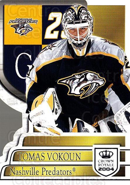 2003-04 Crown Royale Retail #58 Tomas Vokoun<br/>3 In Stock - $1.00 each - <a href=https://centericecollectibles.foxycart.com/cart?name=2003-04%20Crown%20Royale%20Retail%20%2358%20Tomas%20Vokoun...&quantity_max=3&price=$1.00&code=112425 class=foxycart> Buy it now! </a>