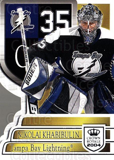 2003-04 Crown Royale Retail #88 Nikolai Khabibulin<br/>4 In Stock - $1.00 each - <a href=https://centericecollectibles.foxycart.com/cart?name=2003-04%20Crown%20Royale%20Retail%20%2388%20Nikolai%20Khabibu...&quantity_max=4&price=$1.00&code=112446 class=foxycart> Buy it now! </a>
