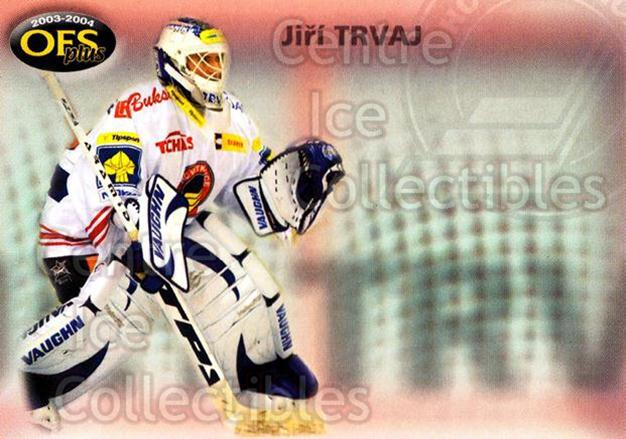 2003-04 Czech OFS Checklists #1 Jiri Trvaj<br/>1 In Stock - $2.00 each - <a href=https://centericecollectibles.foxycart.com/cart?name=2003-04%20Czech%20OFS%20Checklists%20%231%20Jiri%20Trvaj...&quantity_max=1&price=$2.00&code=112550 class=foxycart> Buy it now! </a>