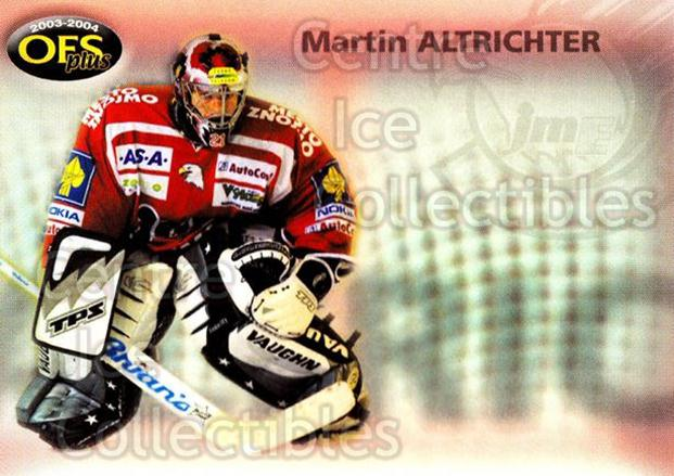 2003-04 Czech OFS Checklists #12 Martin Altrichter<br/>2 In Stock - $2.00 each - <a href=https://centericecollectibles.foxycart.com/cart?name=2003-04%20Czech%20OFS%20Checklists%20%2312%20Martin%20Altricht...&quantity_max=2&price=$2.00&code=112551 class=foxycart> Buy it now! </a>