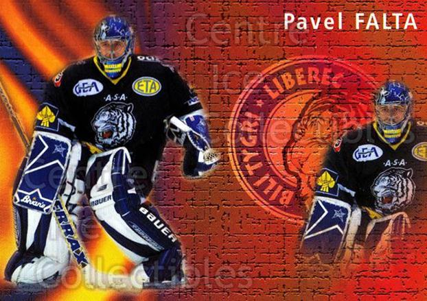 2003-04 Czech OFS Save Percentage Leaders #14 Pavel Falta<br/>1 In Stock - $2.00 each - <a href=https://centericecollectibles.foxycart.com/cart?name=2003-04%20Czech%20OFS%20Save%20Percentage%20Leaders%20%2314%20Pavel%20Falta...&price=$2.00&code=112557 class=foxycart> Buy it now! </a>
