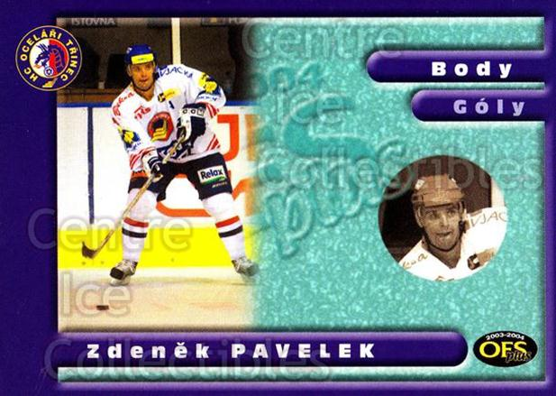 2003-04 Czech OFS Points Leaders #5 Zdenek Pavelek<br/>3 In Stock - $2.00 each - <a href=https://centericecollectibles.foxycart.com/cart?name=2003-04%20Czech%20OFS%20Points%20Leaders%20%235%20Zdenek%20Pavelek...&quantity_max=3&price=$2.00&code=112595 class=foxycart> Buy it now! </a>