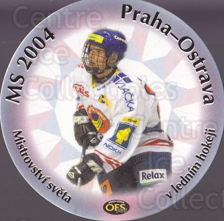 2003-04 Czech OFS MS Praha #19 Rostislav Olesz<br/>2 In Stock - $3.00 each - <a href=https://centericecollectibles.foxycart.com/cart?name=2003-04%20Czech%20OFS%20MS%20Praha%20%2319%20Rostislav%20Olesz...&quantity_max=2&price=$3.00&code=112607 class=foxycart> Buy it now! </a>