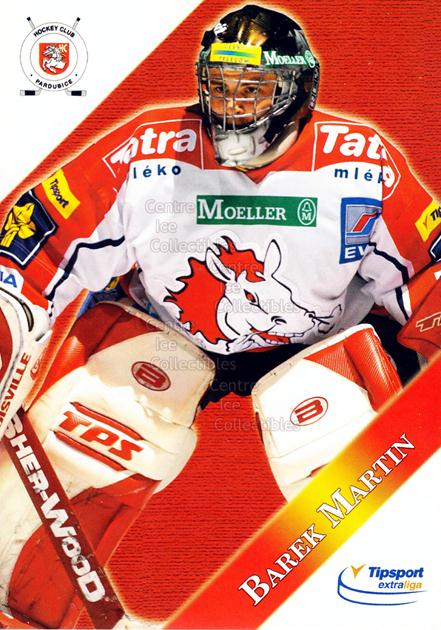 2003-04 Czech HC Pardubice Postcards #4 Martin Barek<br/>3 In Stock - $3.00 each - <a href=https://centericecollectibles.foxycart.com/cart?name=2003-04%20Czech%20HC%20Pardubice%20Postcards%20%234%20Martin%20Barek...&quantity_max=3&price=$3.00&code=112794 class=foxycart> Buy it now! </a>