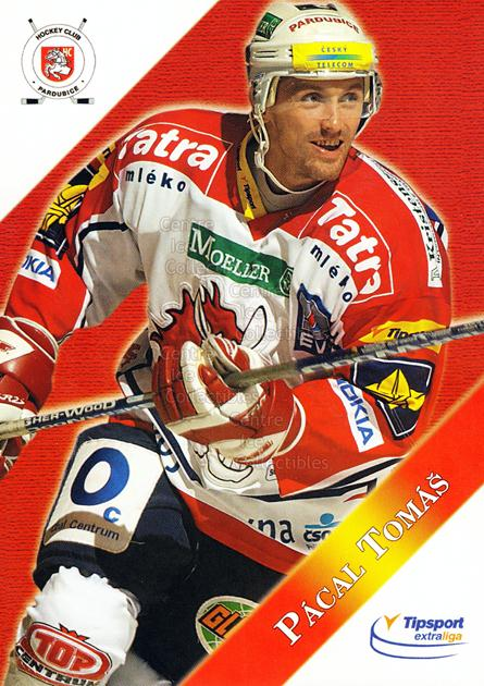 2003-04 Czech HC Pardubice Postcards #9 Tomas Pacal<br/>4 In Stock - $3.00 each - <a href=https://centericecollectibles.foxycart.com/cart?name=2003-04%20Czech%20HC%20Pardubice%20Postcards%20%239%20Tomas%20Pacal...&quantity_max=4&price=$3.00&code=112797 class=foxycart> Buy it now! </a>